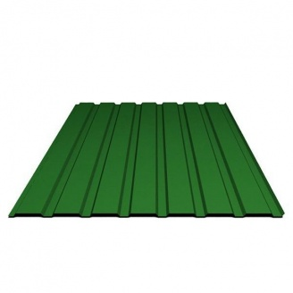 Профнастил 0,3 мм 1,5х0,95 м зеленый
