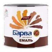 Эмаль алкидная Барва для пола 25 кг орех
