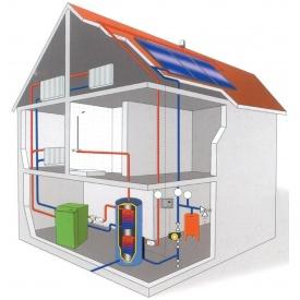 Проектно-монтажные работы системы отопления