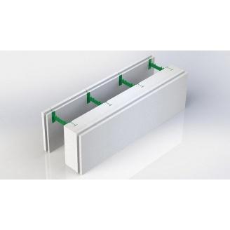 Разборной термоблок 150+50 с регулируемой шириной бетонного ядра стены 300х1000 мм