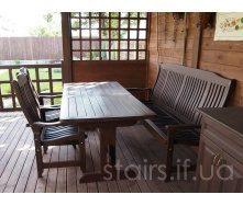 Изготовление деревянной садовой мебели
