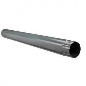 Водостічна труба Акведук Преміум 87 мм 3 м графітовий RAL 7011