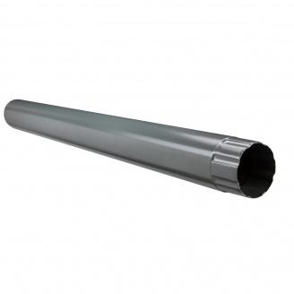 Водосточная труба Акведук Премиум 87 мм 3 м графитовый RAL 7011