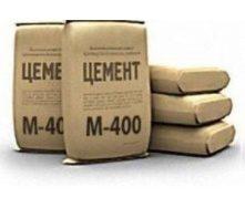 Цемент М400 в мешках