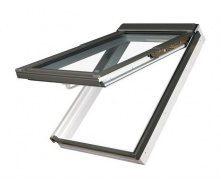Мансардное окно Fakro FPU-V U3 preSelect наклонно-вращательное 78x98 см