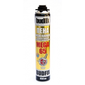 Пена профессиональная 65 л BUDFIX MEGA 860 мл
