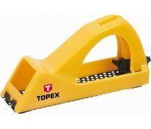 Рубанок рашпильный TOPEX для гипсокартона 140 мм