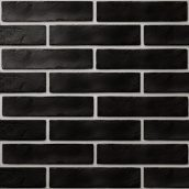 Керамічна плитка Golden Tile BrickStyle The Strand 60х250 мм чорний