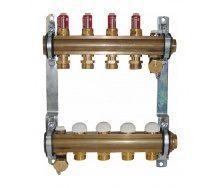 Комплект штанговых распределителей HERZ с расходомерами 2,5 л/мин 3 отвода DN 25 1 дюйм (1853203)