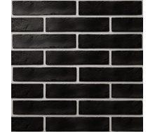 Керамічна плитка Golden Tile BrickStyle The Strand 60х250 мм чорний (08С020)