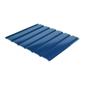 Профнастил Rauni C-18 1174/1128 мм 0,5 мм MAT Polyester SeAH Steel (Корея) RAL 5005