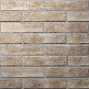 Плитка керамічна Golden Tile BrickStyle Oxford 60х250 мм бежевий