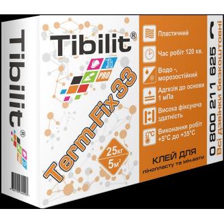 Клей для пенопласта и минваты Tibilit Term-Fix 33 25 кг