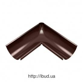 Внутрішній кут жолоба Акведук Преміум 135 градусів 125 мм коричневий RAL 8017