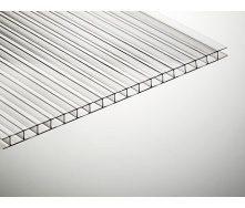 Полікарбонат стільниковий TitanPlast 6 мм 2,1х6 м прозорий