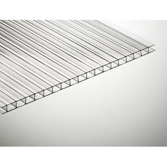 Полікарбонат стільниковий TitanPlast 4 мм 2,1х6 м прозорий