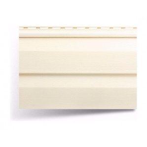 Сайдинг вініловий Альта-Профіль Alta-Siding двухпереломный 3660х230х11 мм кремовий