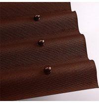 Лист кровельный Onduline 3х950х2000 мм коричневый
