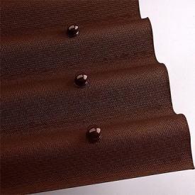 Лист покрівельний Onduline 3х950х2000 мм коричневий