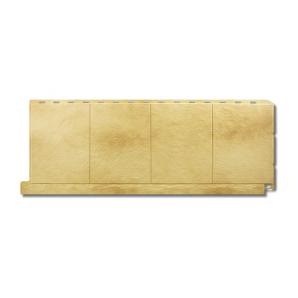 Фасадна панель Альта-Профіль Фасадна плитка 1130х450х20 мм Травертин