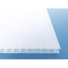 Поликарбонат сотовый TitanPlast Т3 10 мм 2,1х6 м молочный