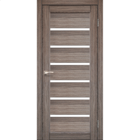 Двери межкомнатные Корфад PORTO Дуб Грей PR-01 700x2000 мм