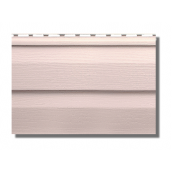 Сайдинг виниловый Альта-Профиль KANADA Плюс Престиж двухпереломный 3660х230х11 мм персиковый