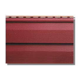 Сайдинг акриловий Альта-Профіль KANADA Плюс Преміум двухпереломний 3660х230х11 мм червоний