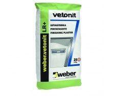 Шпаклівка фінішна Weber Vetonit LR+ 25 кг
