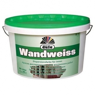 Краска водно-дисперсионная Dufa Wandweiss D1 5 л белая