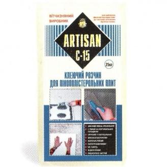 Клей для пенополистирола Artisan С-15 25 кг