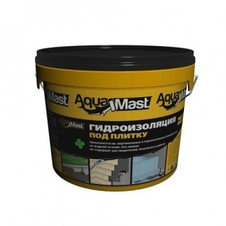 Мастика бітумно-каучукова емульсійна AquaMast