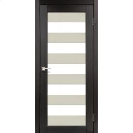 Двери межкомнатные Корфад PORTO COMBI COLORE Венге PС-04 800х2000 мм