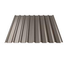 Профнастил Ruukki Т20 Polyester 17 мм темно-коричневый