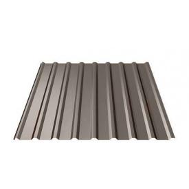 Профнастил Ruukki Т20 Purex/Crown BT 17,5 мм темно-коричневый
