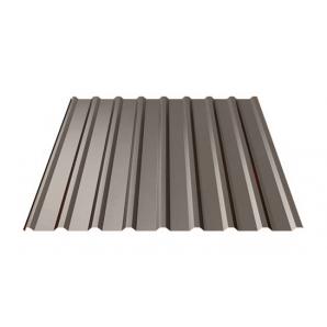 Профнастил Ruukki T20 Polyester 17,5 мм темно-коричневий