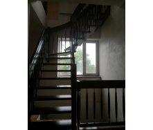 Лестница спиральная с гнутыми элементами