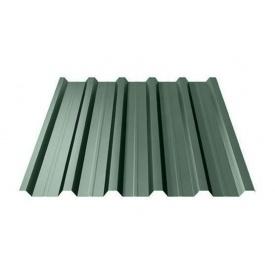 Профнастил Ruukki Т35 Polyester Matt 31 мм темно-зеленый