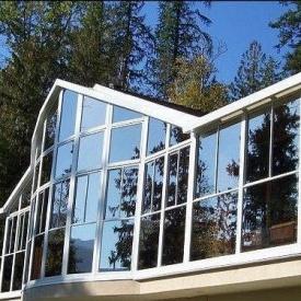 Скління фасаду системою Etem Е-85
