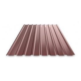 Профнастил Ruukki Т15 Pural Matt фасадный 13,5 мм шоколадный