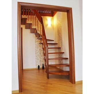 Лестница на больцах светло-коричневая