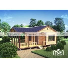 Каркасный дом Смерека-9 9950х6000 мм