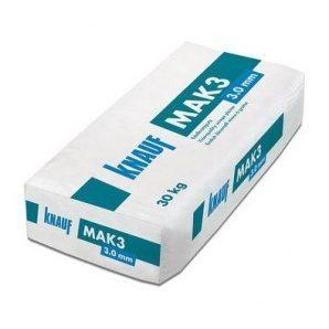 Штукатурка Knauf Mak3 3 мм 30 кг натурально белая