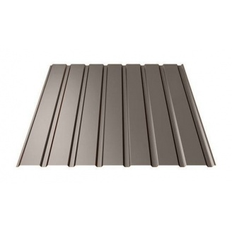 Профнастил Ruukki Т15-115 Pural Matt фасадний 13,5 мм темно-коричневий