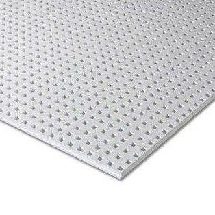 Гипсокартон Knauf Cleaneo Akustik linear 12/25Q 4FF 12,5х1200х2000 мм белый