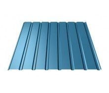 Профнастил Ruukki Т15-115 Polyester стеновой 13 мм синий