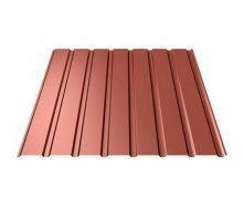 Профнастил Ruukki Т15-115 Polyester matt фасадный 13,5 мм красный