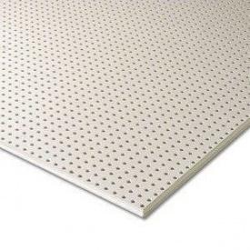 Гипсокартон Knauf Cleaneo Akustik 12/25R 4SK 12,5х1200х2000 мм белый