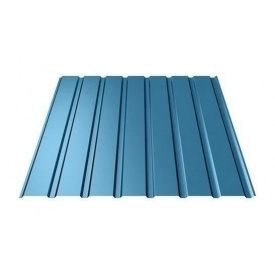 Профнастил Ruukki Т15-115 Polyester фасадный 13,5 мм синий