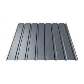 Профнастил Ruukki Т15-115 Polyester matt фасадный 13,5 мм темно-серый